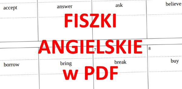 Fiszki Angielski PDF