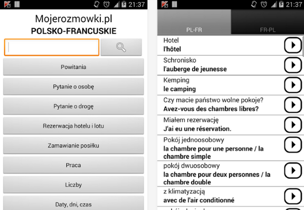 Francuski rozmówki
